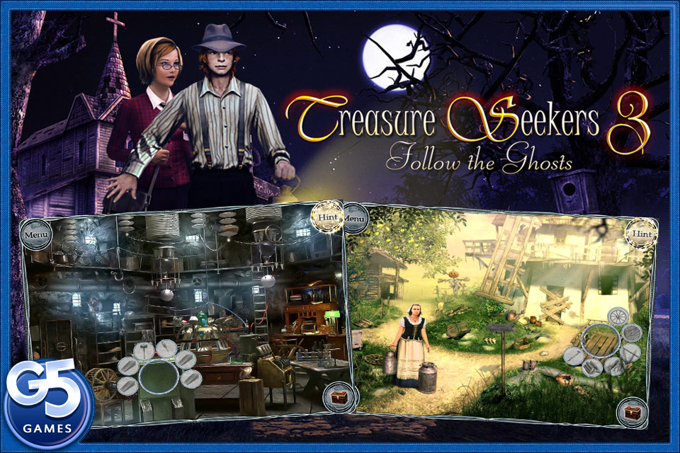 Screenshot Treasure Seekers 3: Follow the Ghosts